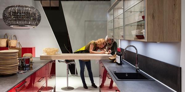 Küche mit Dynamik