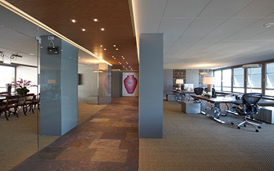 Büroausbau Utoquai Zürich