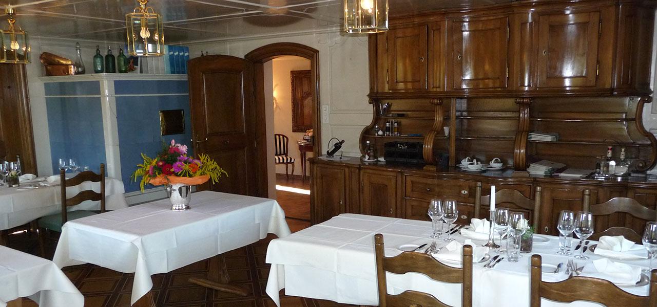 """Semm Innenarchitektur - Restaurant """"Wilder Mann"""" Buonas 4"""