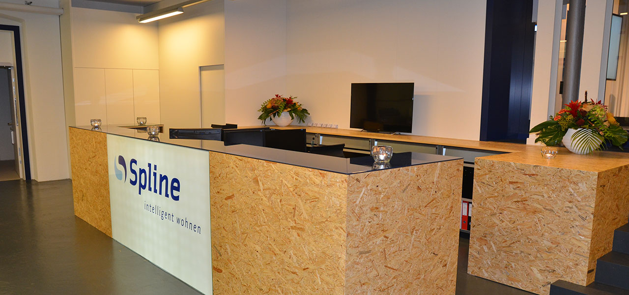 Semm Innenarchitektur - Shop and Office Conversion Spline AG 13