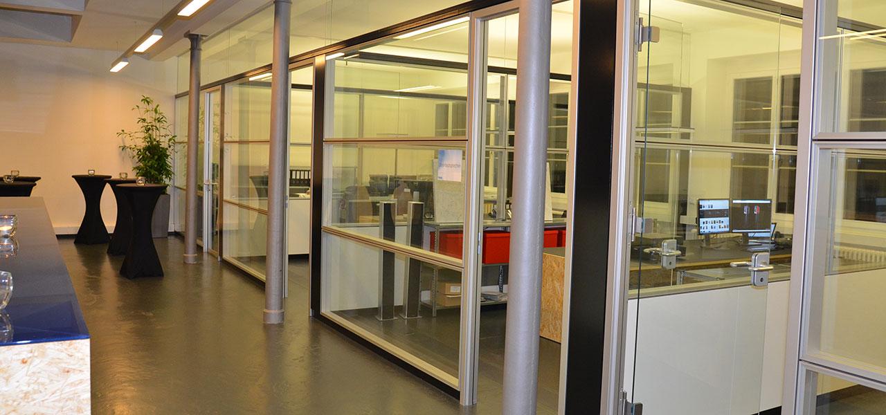 Semm Innenarchitektur - Shop and Office Conversion Spline AG 5