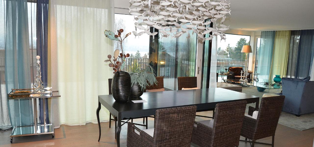Semm Innenarchitektur - Duplex apartment Küsnacht 8
