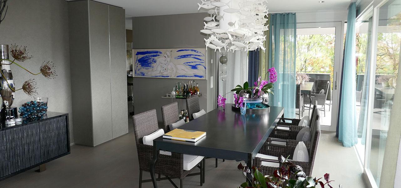 Semm Innenarchitektur - Duplex apartment Küsnacht 15